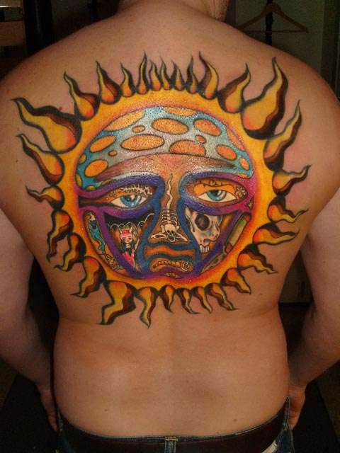 Bradley Nowell Chest Tattoo